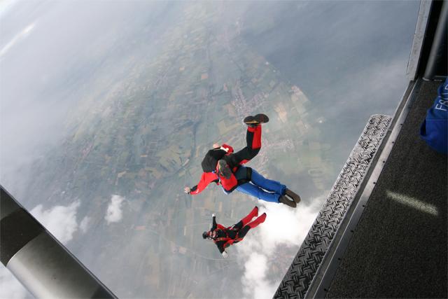 saut en parachute alsace